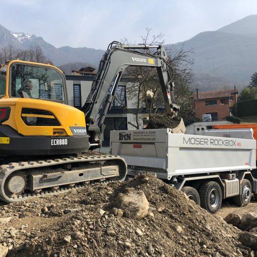 Escavatore 90 qli